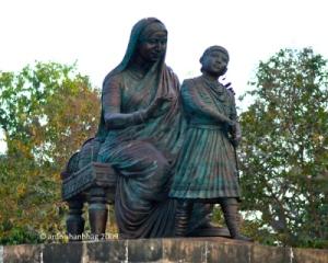 jijamata&sambhaji
