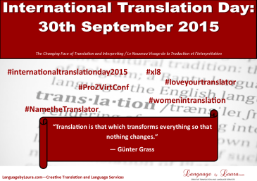 International Tranlation Day