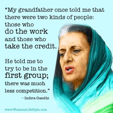 INDIRA GANDHI 3rd PM IronLady 1st Woman Warrior